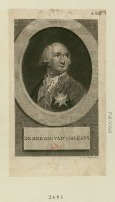 De Hertog van Orleans [estampe]