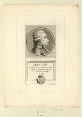 M. Prevôt avocat du Roi, au baillage de Roye. Député des baillage de Peronne &<em>c</em>. à l'Assemblée nationale de 1789 : [estampe]