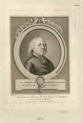 Le  Borthe [i.e. Borlhe] de Grand'Pré, curé d'Oradour Fanois député de la Basse Marche : [estampe]
