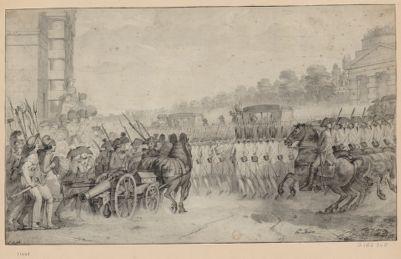 [Retour du roi à <em>Paris</em> le 25 juin 1791] [dessin]