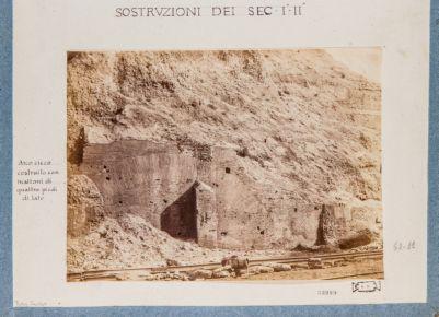 Mura Serviane, costruzioni dei secoli I e II d.C
