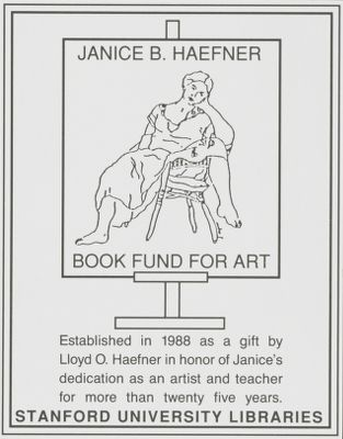 Janice B. Haefner Book Fund for Art