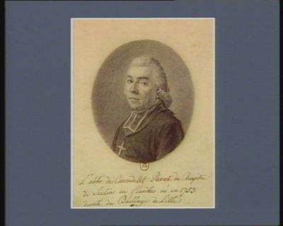 <em>L</em>' abbé de Carondelet Prevost du Chapitre de Seclin en flandres né en 1753 deputé du Baillage de Lille : [dessin]