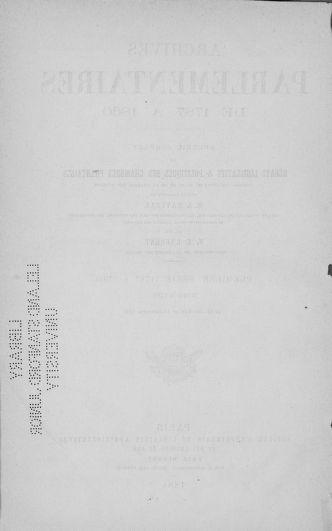 Tome 18 : Du 12 août au 15 septembre 1790 - page 1