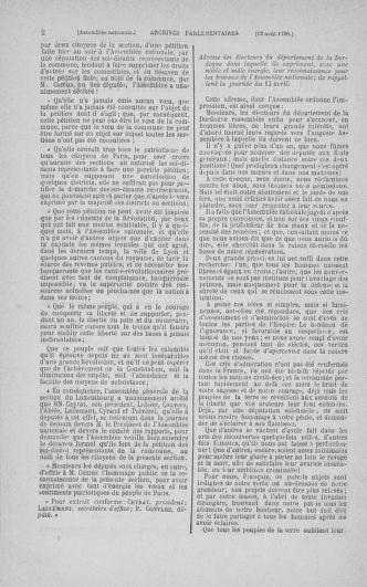 Tome 18 : Du 12 août au 15 septembre 1790 - page 2