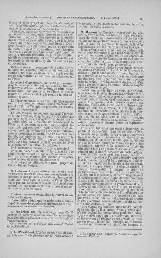 Tome 18 : Du 12 août au 15 septembre 1790 - page 51