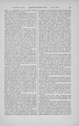 Tome 18 : Du 12 août au 15 septembre 1790 - page 53