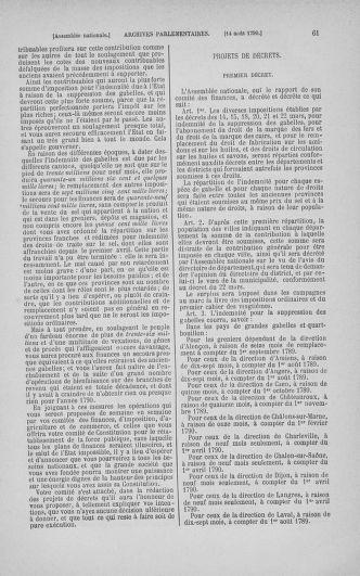 Tome 18 : Du 12 août au 15 septembre 1790 - page 61