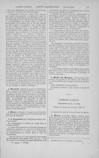 Tome 18 : Du 12 août au 15 septembre 1790 - page 81