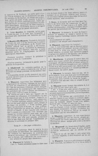 Tome 18 : Du 12 août au 15 septembre 1790 - page 89