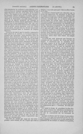 Tome 18 : Du 12 août au 15 septembre 1790 - page 95