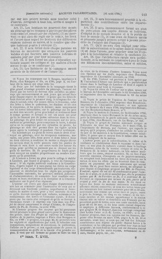 Tome 18 : Du 12 août au 15 septembre 1790 - page 113