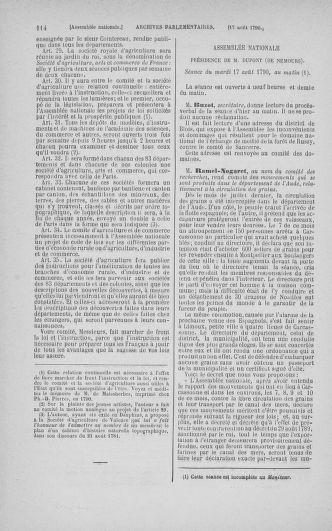 Tome 18 : Du 12 août au 15 septembre 1790 - page 114