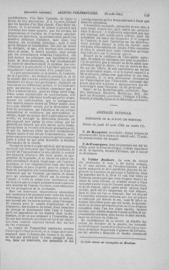 Tome 18 : Du 12 août au 15 septembre 1790 - page 159
