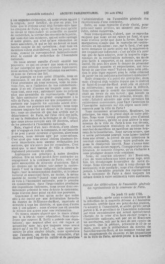 Tome 18 : Du 12 août au 15 septembre 1790 - page 167