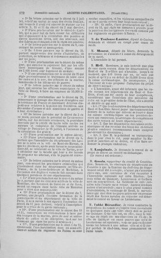 Tome 18 : Du 12 août au 15 septembre 1790 - page 172