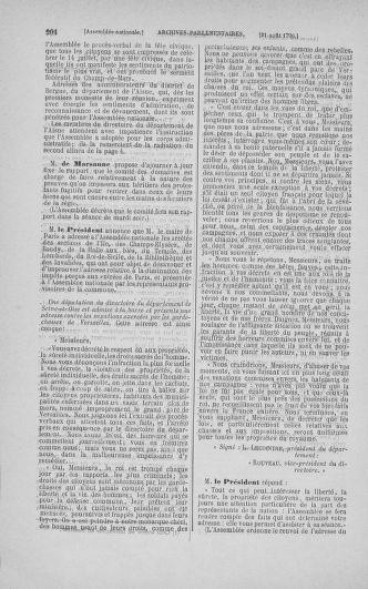 Tome 18 : Du 12 août au 15 septembre 1790 - page 204