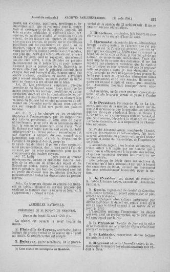 Tome 18 : Du 12 août au 15 septembre 1790 - page 227