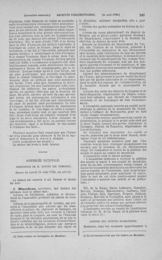 Tome 18 : Du 12 août au 15 septembre 1790 - page 249