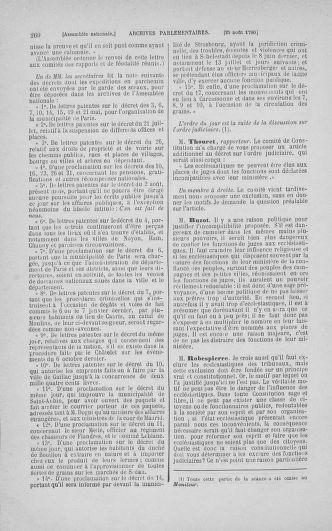 Tome 18 : Du 12 août au 15 septembre 1790 - page 260