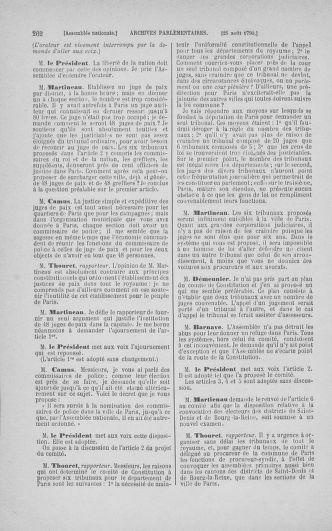 Tome 18 : Du 12 août au 15 septembre 1790 - page 262