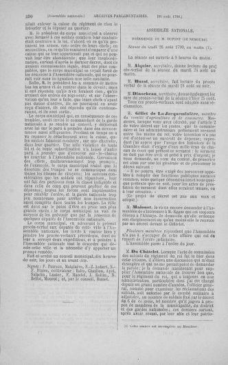 Tome 18 : Du 12 août au 15 septembre 1790 - page 290