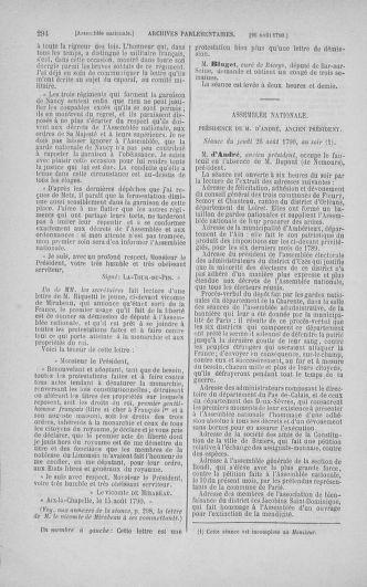 Tome 18 : Du 12 août au 15 septembre 1790 - page 294