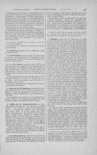 Tome 18 : Du 12 août au 15 septembre 1790 - page 295