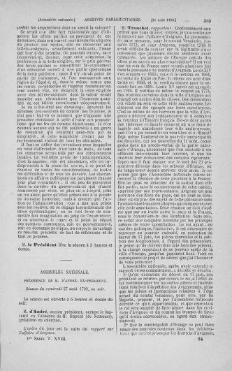 Tome 18 : Du 12 août au 15 septembre 1790 - page 369