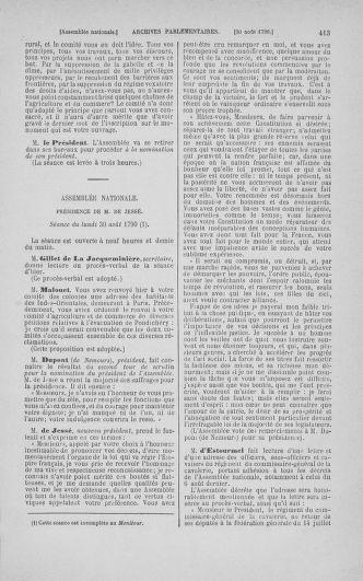 Tome 18 : Du 12 août au 15 septembre 1790 - page 413