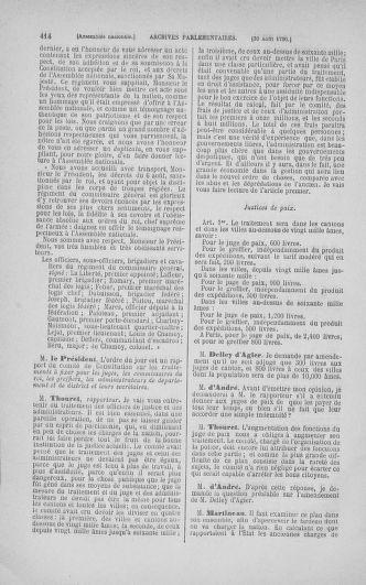 Tome 18 : Du 12 août au 15 septembre 1790 - page 414