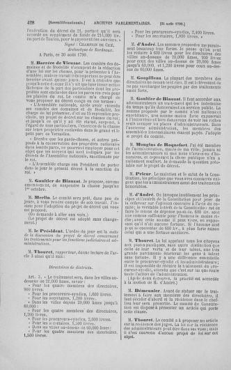 Tome 18 : Du 12 août au 15 septembre 1790 - page 428