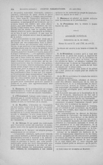 Tome 18 : Du 12 août au 15 septembre 1790 - page 434