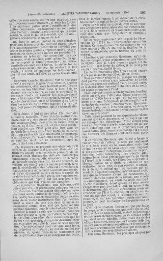 Tome 18 : Du 12 août au 15 septembre 1790 - page 503