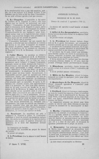 Tome 18 : Du 12 août au 15 septembre 1790 - page 513