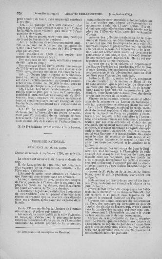 Tome 18 : Du 12 août au 15 septembre 1790 - page 570