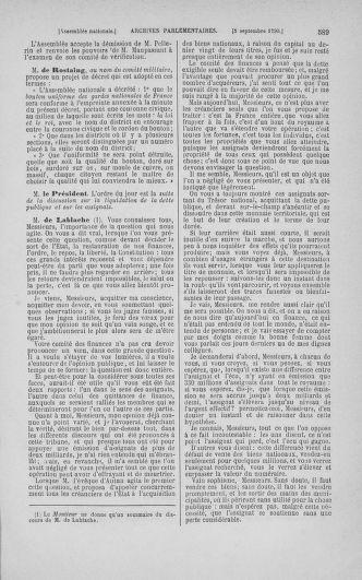 Tome 18 : Du 12 août au 15 septembre 1790 - page 589