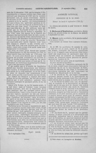 Tome 18 : Du 12 août au 15 septembre 1790 - page 619