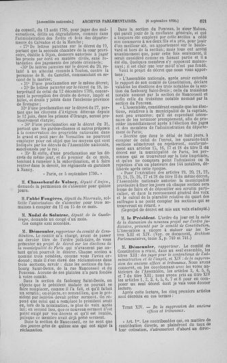 Tome 18 : Du 12 août au 15 septembre 1790 - page 621
