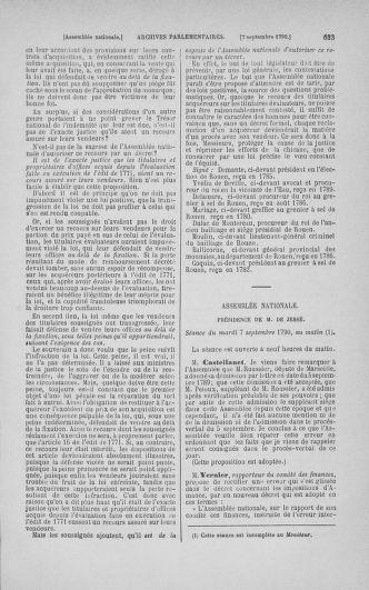 Tome 18 : Du 12 août au 15 septembre 1790 - page 633