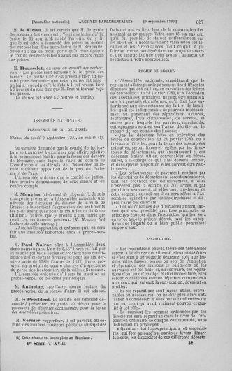 Tome 18 : Du 12 août au 15 septembre 1790 - page 657
