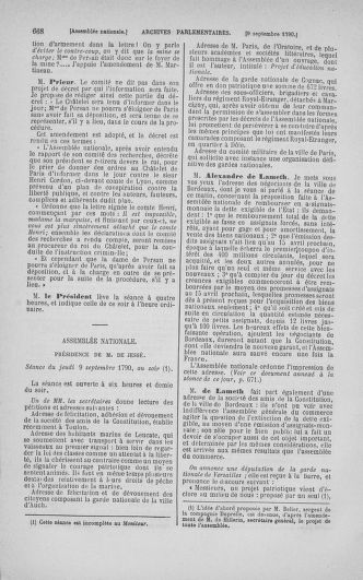 Tome 18 : Du 12 août au 15 septembre 1790 - page 668