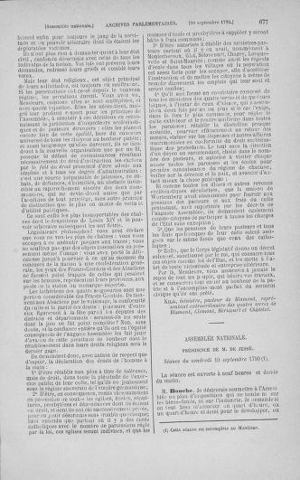 Tome 18 : Du 12 août au 15 septembre 1790 - page 677