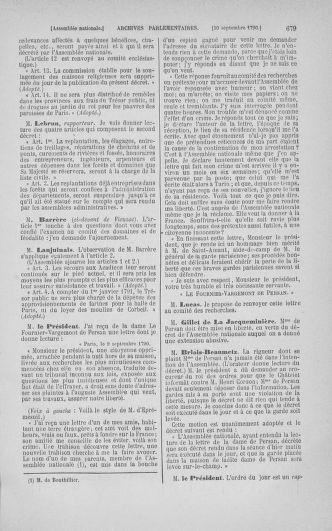 Tome 18 : Du 12 août au 15 septembre 1790 - page 679