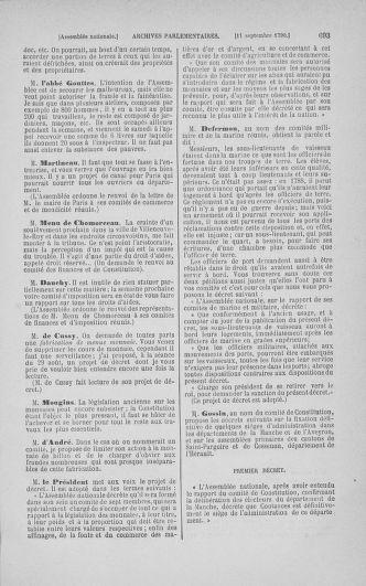 Tome 18 : Du 12 août au 15 septembre 1790 - page 693