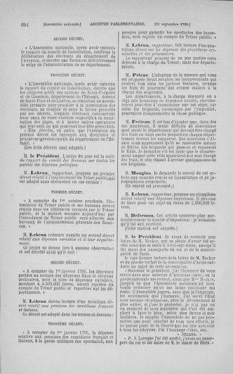 Tome 18 : Du 12 août au 15 septembre 1790 - page 694