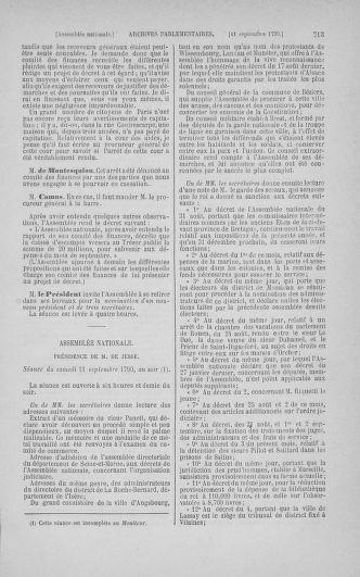 Tome 18 : Du 12 août au 15 septembre 1790 - page 713