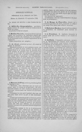 Tome 18 : Du 12 août au 15 septembre 1790 - page 718