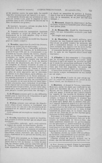 Tome 18 : Du 12 août au 15 septembre 1790 - page 723