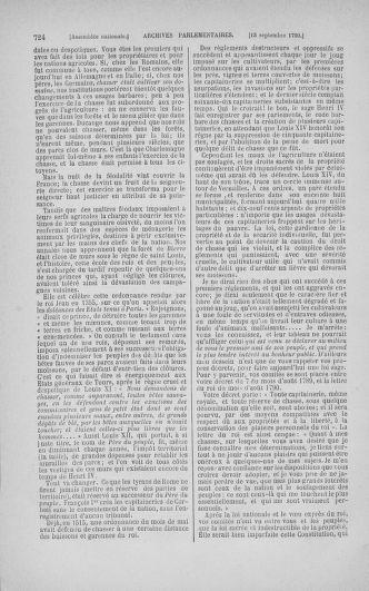 Tome 18 : Du 12 août au 15 septembre 1790 - page 724